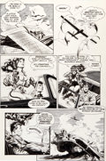 Original Comic Art:Panel Pages, Mark Schultz Xenozoic Tales #6 Page 6 Original Art (KitchenSink, 1988)....