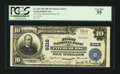 National Bank Notes:Pennsylvania, Intercourse, PA - $10 1902 Plain Back Fr. 626 The First NB Ch. #9216. ...