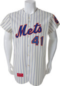 Baseball Collectibles:Uniforms, 1973 Tom Seaver Game Worn New York Mets Jersey from Cy YoungSeason, MEARS A9.5....