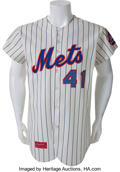 brand new 98a91 f852f 1973 Tom Seaver Game Worn New York Mets Jersey from Cy Young ...