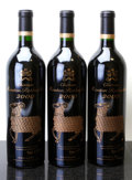 Red Bordeaux, Chateau Mouton Rothschild 2000 . Pauillac. Bottle (3). ...(Total: 3 Btls. )