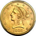 Liberty Eagles, 1900 $10 MS65 PCGS....