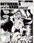 Original Comic Art:Splash Pages, Keith Pollard and Joe Sinnott Fantastic Four #322 GravitonSplash Page 1 Original Art (Marvel, 1989)....
