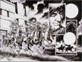 Original Comic Art:Splash Pages, Tim Truman Conan the Cimmerian #16 Splash Page 20 and 21Original Art (Dark Horse, 2007)....