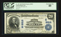 National Bank Notes:Pennsylvania, Bruin, PA - $20 1902 Plain Back Fr. 652 The First NB Ch. # (E)8919....
