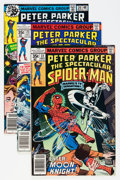 Modern Age (1980-Present):Superhero, Spectacular Spider-Man Box Lot (Marvel, 1976-93) Condition: AverageNM-....