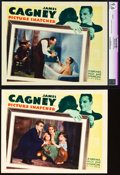 "Movie Posters:Crime, Picture Snatcher (Warner Brothers, 1933). CGC Graded Lobby Card& Lobby Card (11"" X 14"").. ... (Total: 2 Items)"