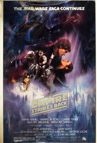 """The Empire Strikes Back (20th Century Fox, 1980). Color Separations (27"""" X 41"""") Style A"""
