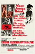 """Movie Posters:James Bond, From Russia with Love (United Artists, 1964). One Sheet (27"""" X 41"""")Style A.. ..."""