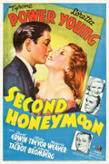 """Movie Posters:Comedy, Second Honeymoon (20th Century Fox, 1937). One Sheet (27"""" X 41"""")Style A.. ..."""