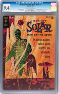 Silver Age (1956-1969):Science Fiction, Doctor Solar #1 (Gold Key, 1962) CGC NM 9.4 Off-white to white pages....