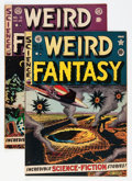 Golden Age (1938-1955):Science Fiction, Weird Fantasy #11 and 12 Group (EC, 1952) Condition: AverageVG/FN.... (Total: 2 Comic Books)