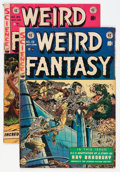Golden Age (1938-1955):Science Fiction, Weird Fantasy #19 and 20 Group (EC, 1953) Condition: AverageVG/FN.... (Total: 2 Comic Books)