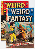 Golden Age (1938-1955):Science Fiction, Weird Fantasy #21 and 22 Group (EC, 1953) Condition: AverageVG/FN.... (Total: 2 Comic Books)