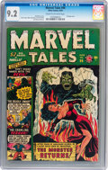 Golden Age (1938-1955):Horror, Marvel Tales #96 (Atlas, 1950) Condition: NM- 9.2 Cream tooff-white pages....