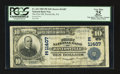 National Bank Notes:Pennsylvania, Davidsville, PA - $10 1902 Plain Back Fr. 632 The First NB Ch. #(E)11407. ...