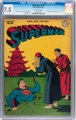 Superman #45 (DC, 1947) CGC VF- 7.5 Off-white pages
