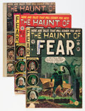 Golden Age (1938-1955):Horror, Haunt of Fear Group (EC, 1951-54).... (Total: 5 Comic Books)