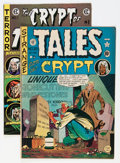 Golden Age (1938-1955):Horror, Tales From the Crypt Group (EC, 1950-73) Condition: AverageVG/FN.... (Total: 2 Comic Books)