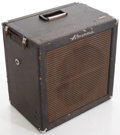 Musical Instruments:Amplifiers, PA, & Effects, 1960 's Ampeg B-15 N Blue Bass Guitar Amplifier, #603779....