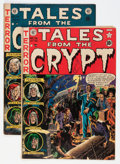 Golden Age (1938-1955):Horror, Tales From the Crypt #26 and 34 Group (EC, 1951-53) Condition:Average VG/FN.... (Total: 2 Comic Books)