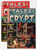Golden Age (1938-1955):Horror, Tales From the Crypt #27 and 28 Group (EC, 1951-52) Condition:Average VG+.... (Total: 2 Comic Books)