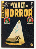 Golden Age (1938-1955):Horror, Vault of Horror #16 (EC, 1950) Condition: VG+....