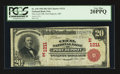 National Bank Notes:Maryland, Port Deposit, MD - $20 1902 Red Seal Fr. 639 The Cecil NB Ch. #(E)1211. ...