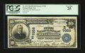 National Bank Notes:Pennsylvania, Bellwood, PA - $10 1902 Plain Back Fr. 624 The First NB Ch. #(E)7356. ...