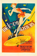 """Movie Posters:Musical, Melody Masters (Warner Brothers, 1935). One Sheet (27"""" X 41"""").. ..."""