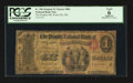 National Bank Notes:Maine, Waterville, ME - $1 Original Fr. 380 The Peoples NB Ch. # 880. ...