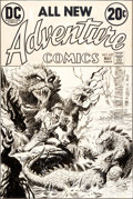 Original Comic Art:Covers, Luis Dominguez Adventure Comics #427 Cover Original Art (DC,1973)....