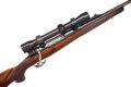 """Long Guns:Bolt Action, Famous """"Betsy #1"""" 7mm Mashburn Super Magnum Mashburn Arms Bolt Action Rifle with Telescopic Sight, owned by Warren Page . ..."""