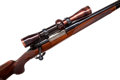 Long Guns:Bolt Action, .257 Roberts Custom Model 70 Bolt Action Rifle made by Pachmayr forJack O'Connor. . ...