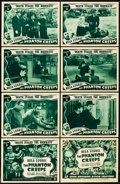 "Movie Posters:Serial, The Phantom Creeps (Universal, 1939). Lobby Card Set of 8 (11"" X14""). Chapter 2 -- ""Death Stalks the Highways."". ... (Total: 9Items)"