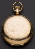Timepieces:Pocket (post 1900), Hampden 15 Jewel 18 Size Hunter's Case Pocket Watch. ...