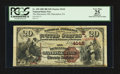 National Bank Notes:Pennsylvania, Duncannon, PA - $20 1882 Brown Back Fr. 498 The Duncannon NB Ch. #(E)4142. ...