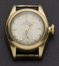 Timepieces:Wristwatch, Rolex Ref. 5002 Vintage Lady's 14k Gold Oyster Perpetual. ...