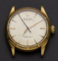 Timepieces:Wristwatch, Rolex 18k Gold Ref. 6565 Vintage Wristwatch, circa 1967. ...