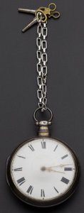 Timepieces:Pocket (pre 1900) , Goldsmith Liverpool Verge Fusee. ...