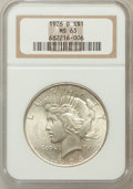 Peace Dollars: , 1926-D $1 MS63 NGC. NGC Census: (645/1569). PCGS Population(1231/2361). Mintage: 2,348,700. Numismedia Wsl. Price for prob...