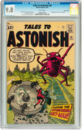 Silver Age (1956-1969):Superhero, Tales to Astonish #39 Pacific Coast pedigree (Marvel, 1963) CGCNM/MT 9.8 White pages....