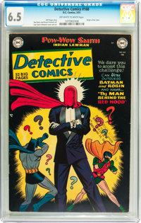 Detective Comics #168 (DC, 1951) CGC FN+ 6.5 Off-white to white pages