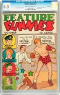 Platinum Age (1897-1937):Miscellaneous, Feature Funnies #1 Lost Valley pedigree (Chesler, 1937) CGC FN+ 6.5Cream to off-white pages....