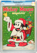 Platinum Age (1897-1937):Miscellaneous, Mickey Mouse Magazine V3#3 File Copy (K. K. Publications/ WesternPublishing Co., 1937) CGC NM+ 9.6 Cream to off-white pages....