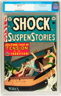 Golden Age (1938-1955):Horror, Shock SuspenStories #11 Gaines File pedigree 8/11 (EC, 1953)Condition: NM 9.4 White pages....
