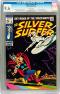 Silver Age (1956-1969):Superhero, The Silver Surfer #4 (Marvel, 1969) CGC NM+ 9.6 White pages....