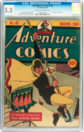 Golden Age (1938-1955):Superhero, Adventure Comics #48 (DC, 1940) CGC FN- 5.5 Cream to off-white pages....