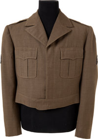 "A Charlton Heston Military Jacket Possibly from ""The Private War of Major Benson."""