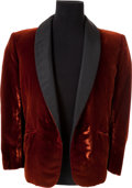"Movie/TV Memorabilia:Costumes, A Robert Conrad Smoking Jacket from ""The Wild Wild West.""..."